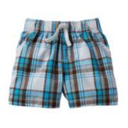 Jumping Beans® Plaid Shorts - Baby Boy