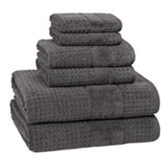 Kassatex Turkish Hammam Textured 6 pc Towel Set