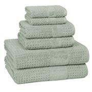 Kassatex Turkish Hammam Textured 6 pc Towel Set
