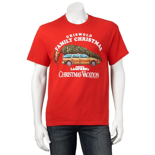 National Lampoon S Christmas Vacation Griswold Family Christmas Tee Men