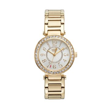 Juicy Couture Women's Luxe Couture Crystal Stainless Steel Watch - 1901151