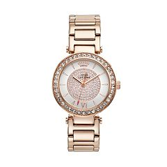 Juicy Couture Luxe Couture Gold Tone Stainless Steel Women's Watch 1901152 by