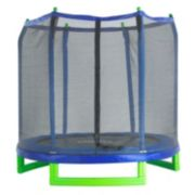 Upper Bounce 7-ft. Indoor / Outdoor Classic Trampoline & Enclosure Set