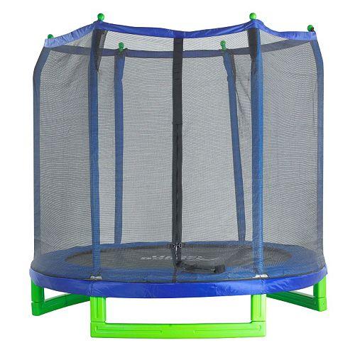 Upper Bounce 7-ft. Indoor / Outdoor Classic Trampoline & Enclosure Set
