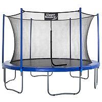 Upper Bounce 12-ft. Trampoline & Enclosure Set