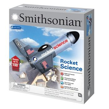 smithsonian rocket science kit instructions