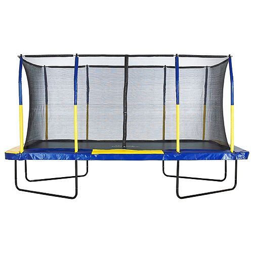 Upper Bounce 9' x 15' Rectangular Trampoline with Enclosure