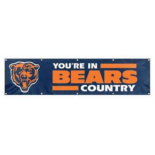 Chicago Bears Giant Banner