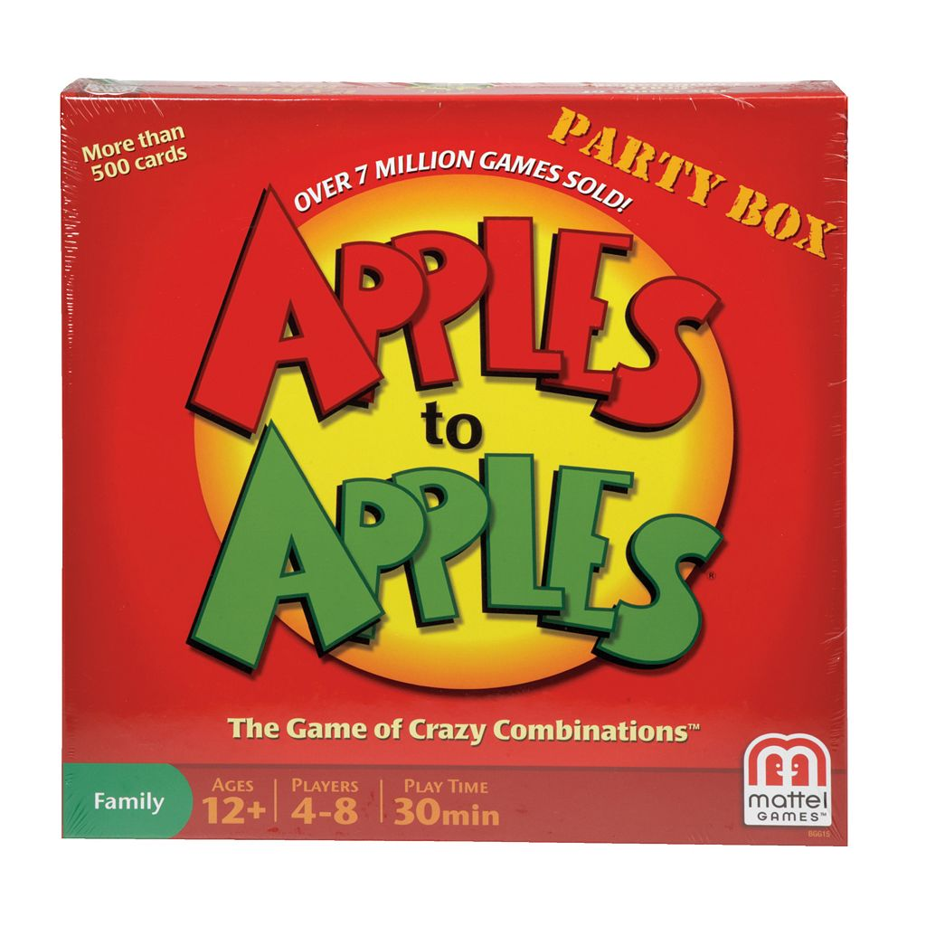 Apples to Apples Party Box by Mattel