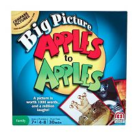 Apples to Apples Big Picture Game by Mattel
