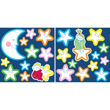WallPops Smiling Stars Glow-in-the-Dark Wall Decals