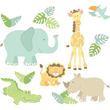 WallPops Safari Buddies Wall Decals