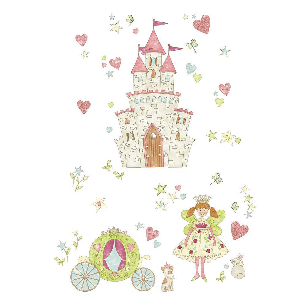 WallPops Princess Fairyland Wall Decals