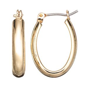 Napier U-Hoop Earrings