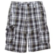 Urban Pipeline® Plaid Cargo Shorts - Boys 8-20