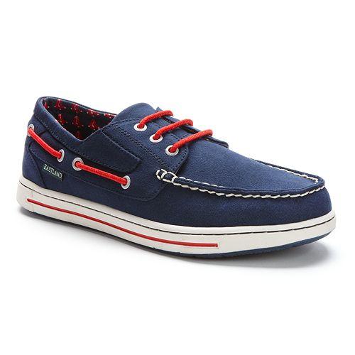 Men's Eastland Boston Red Sox Adventure Boat Shoes