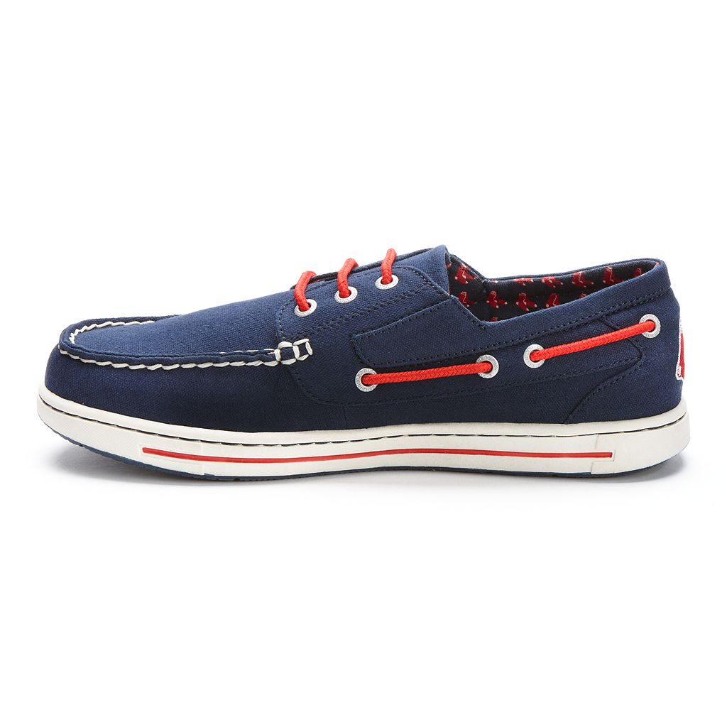 Men's Eastland Boston Red Sox Adventure Boat Shoes