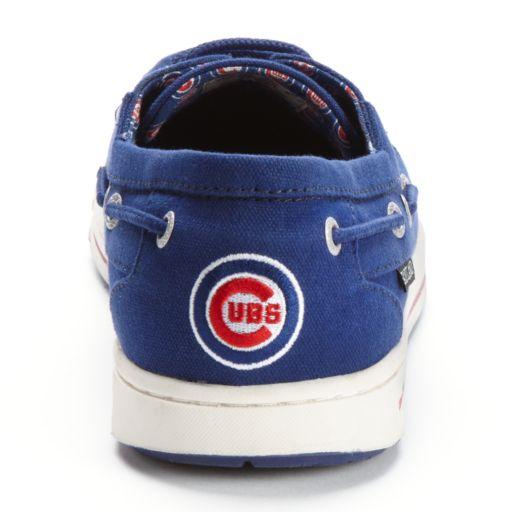 Eastland Chicago Cubs Adventure Men's Boat Shoes