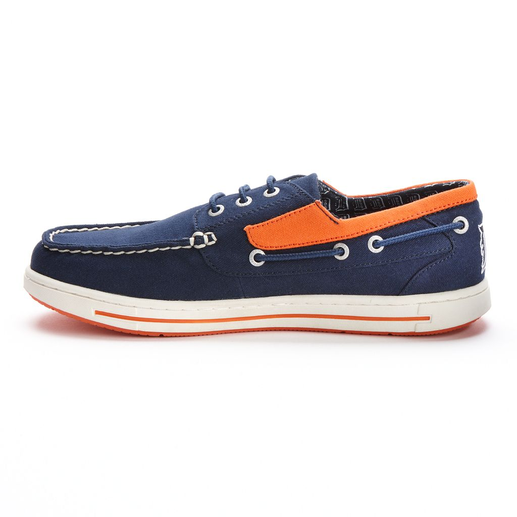 Men's Eastland Detroit Tigers Adventure Boat Shoes