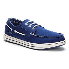 Men's Eastland Los Angeles Dodgers Adventure Boat Shoes