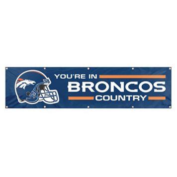 Denver Broncos Giant Banner