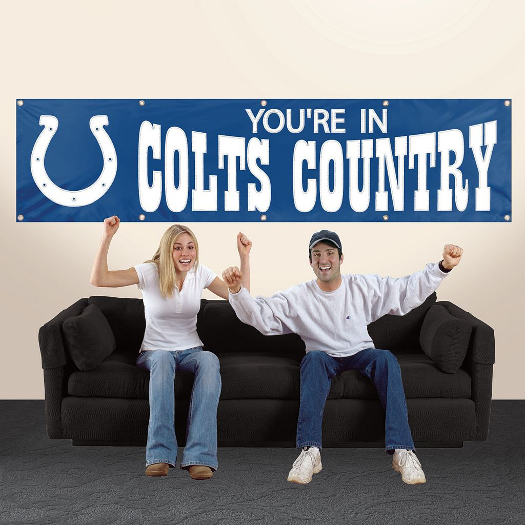 Indianapolis Colts Giant Banner