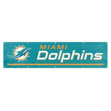 Miami Dolphins Giant Banner