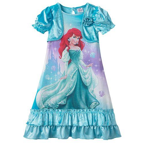 Disney Princess Ariel Mock-Layer Dress-Up Nightgown - Toddler 862f63ff7