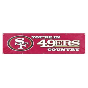 San Francisco 49ers Giant Banner