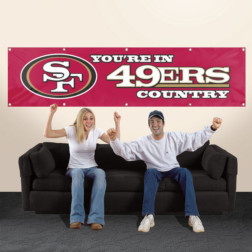 San Francisco 49ers Giant Banner
