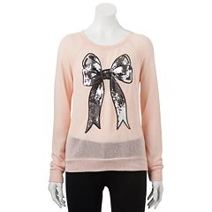 Disney Graphic Print Sweater-Knit Top - Juniors