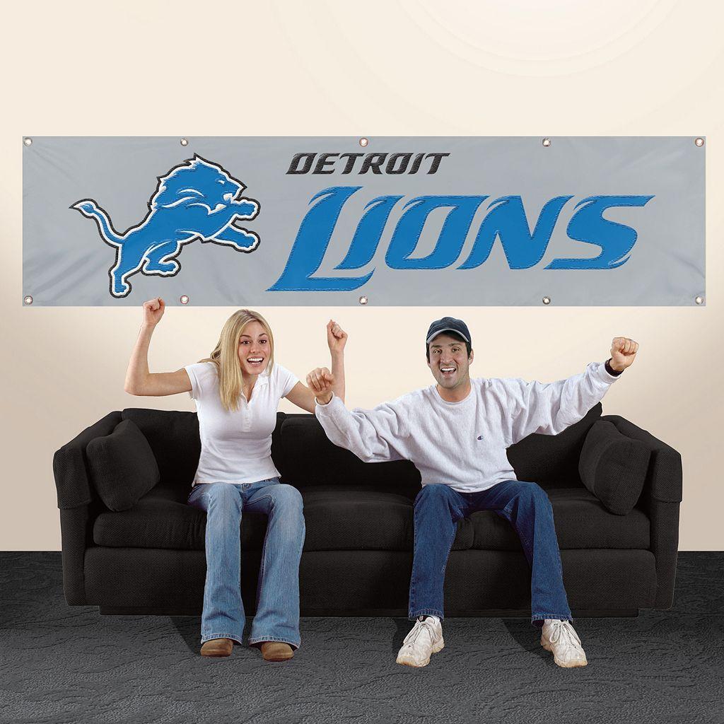 Detroit Lions Giant Banner
