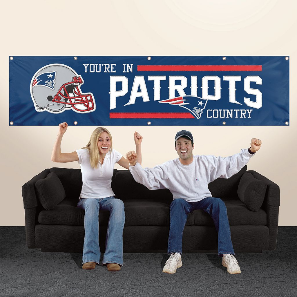 New EnglandPatriots Giant Banner