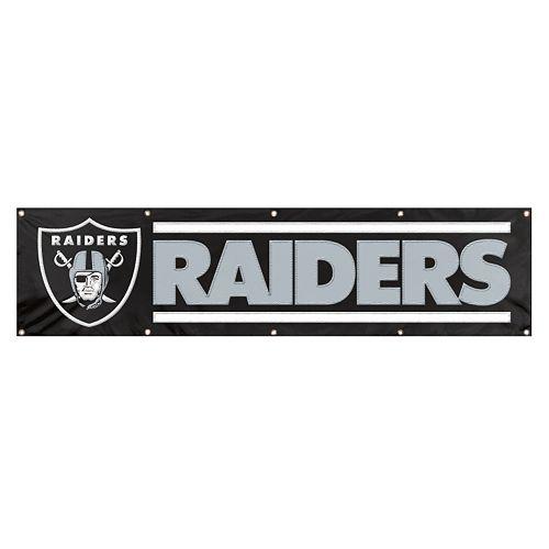 Oakland Raiders Giant Banner