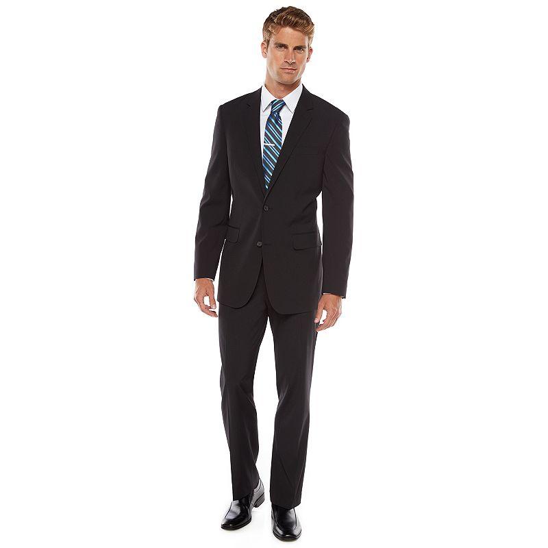 Apt. 9 Modern-Fit Solid Black Suit - Men