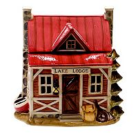 Certified International Lakeside Lodge Cookie Jar