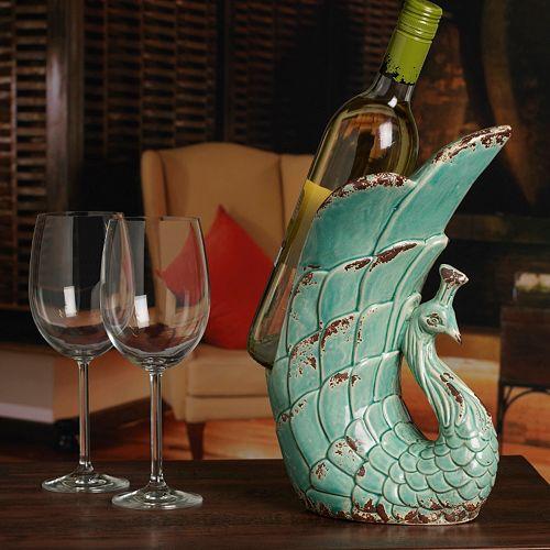 Bombay™ Peacock Wine Holder