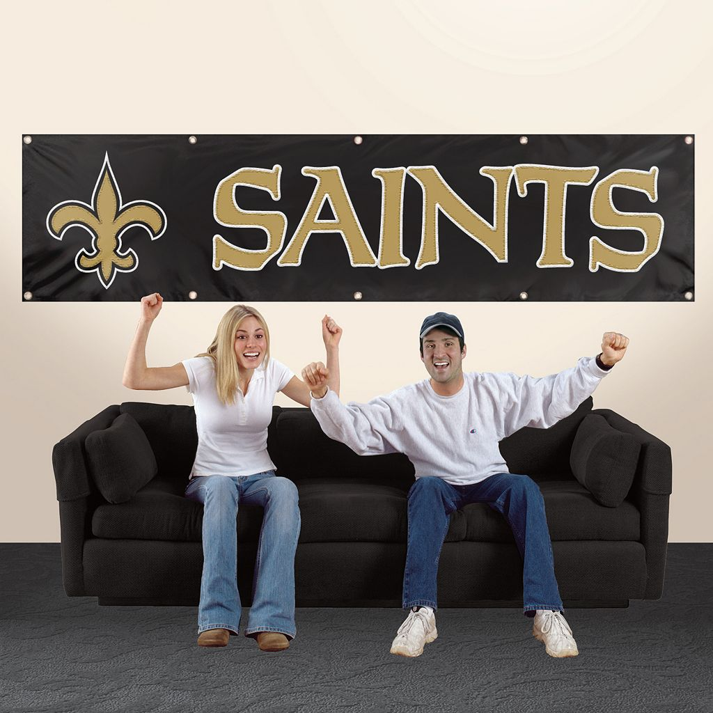 New Orleans Saints Giant Banner
