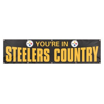 Pittsburgh Steelers Giant Banner