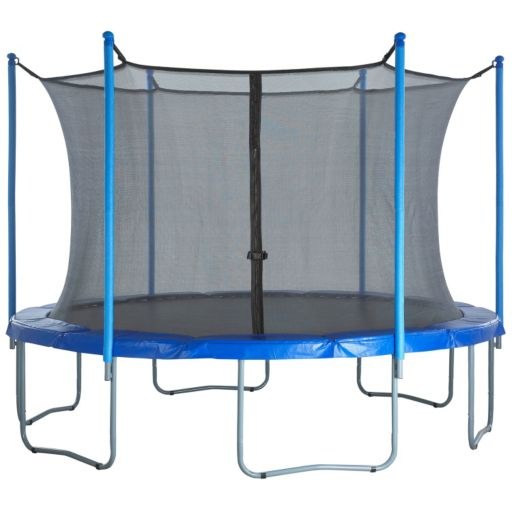 Upper Bounce 12-ft. Round 6-Pole / 3-Arch Trampoline Enclosure Safety Net