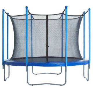 Upper Bounce 13-ft. Round 8-Pole / 4-Arch Trampoline Enclosure Safety Net