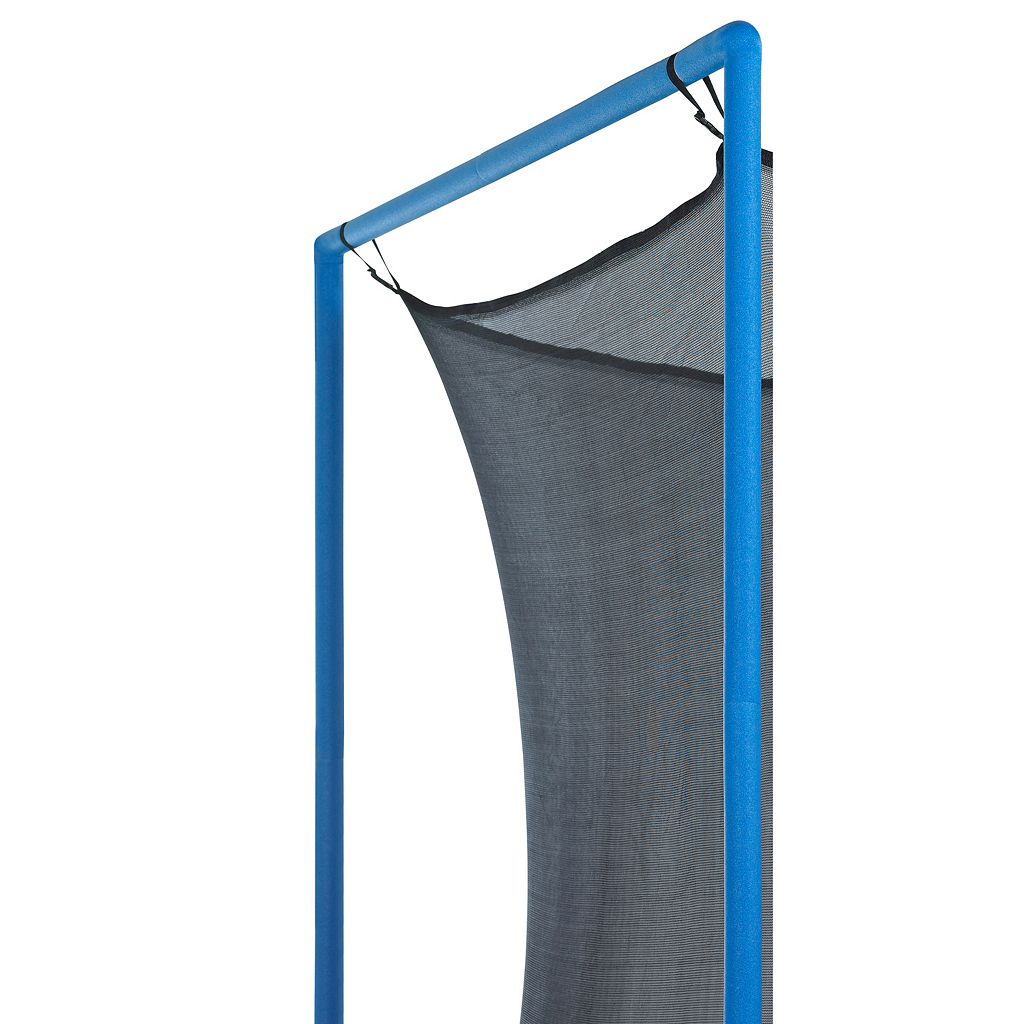 Upper Bounce 14-ft. Round 4-Pole / 2-Arch Trampoline Enclosure Safety Net