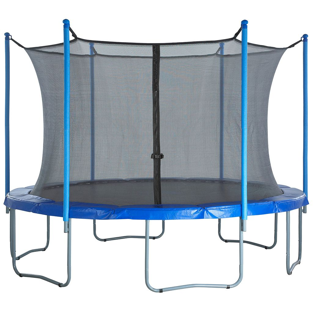 Upper Bounce 15-ft. Round 6-Pole / 3-Arch Trampoline Enclosure Safety Net