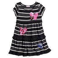 Design 365 Tiered Heart Dress - Toddler
