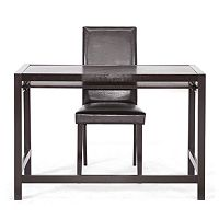 Baxton Studio 2-piece Astoria Desk & Chair Set