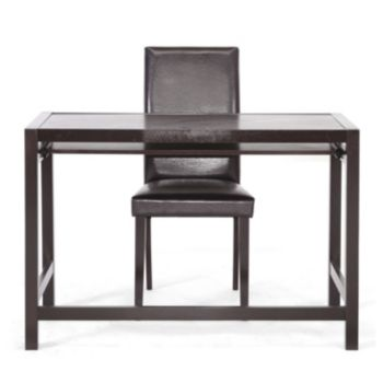 Baxton Studio 2-piece Astoria Desk and Chair Set