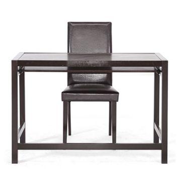 Baxton Studio 2-piece Astoria Desk & Chair Set