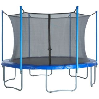 Upper Bounce 16-ft. Round 6-Pole / 3-Arch Trampoline Enclosure Safety Net