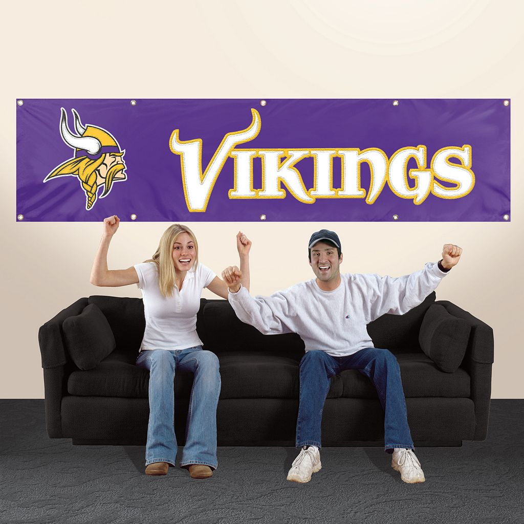 Minnesota Vikings Giant Banner