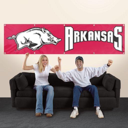 Arkansas Razorbacks Giant Banner